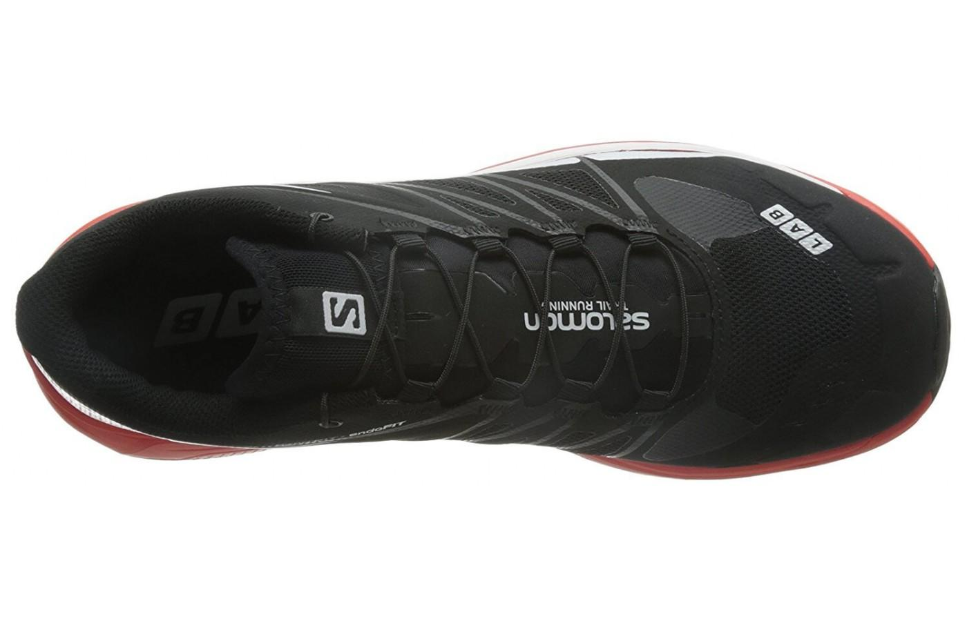 Salomon S-Lab Wings 8 SG has a QUICKLACE system