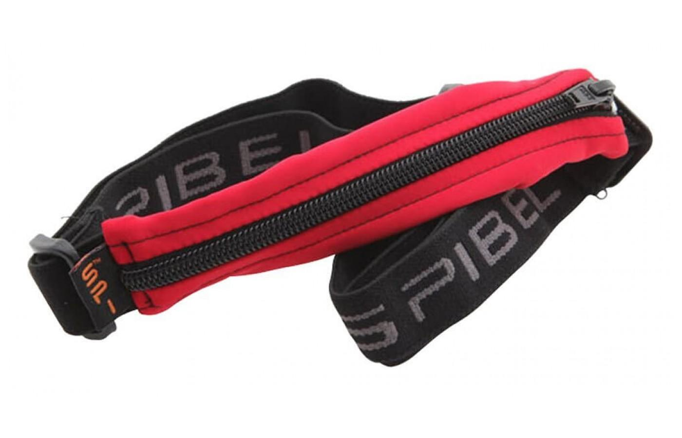 The SPIbelt has a sturdy zipper to keep your items secure