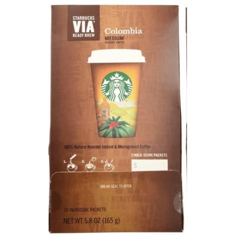 1. Starbucks VIA Colombia Roast