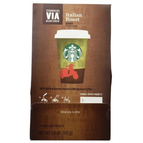 4. Starbucks VIA Italian Roast