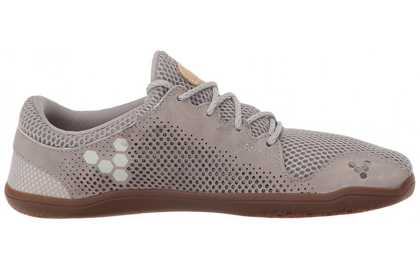 The upper of the Vivobarefoot Primus Trio is very breathable