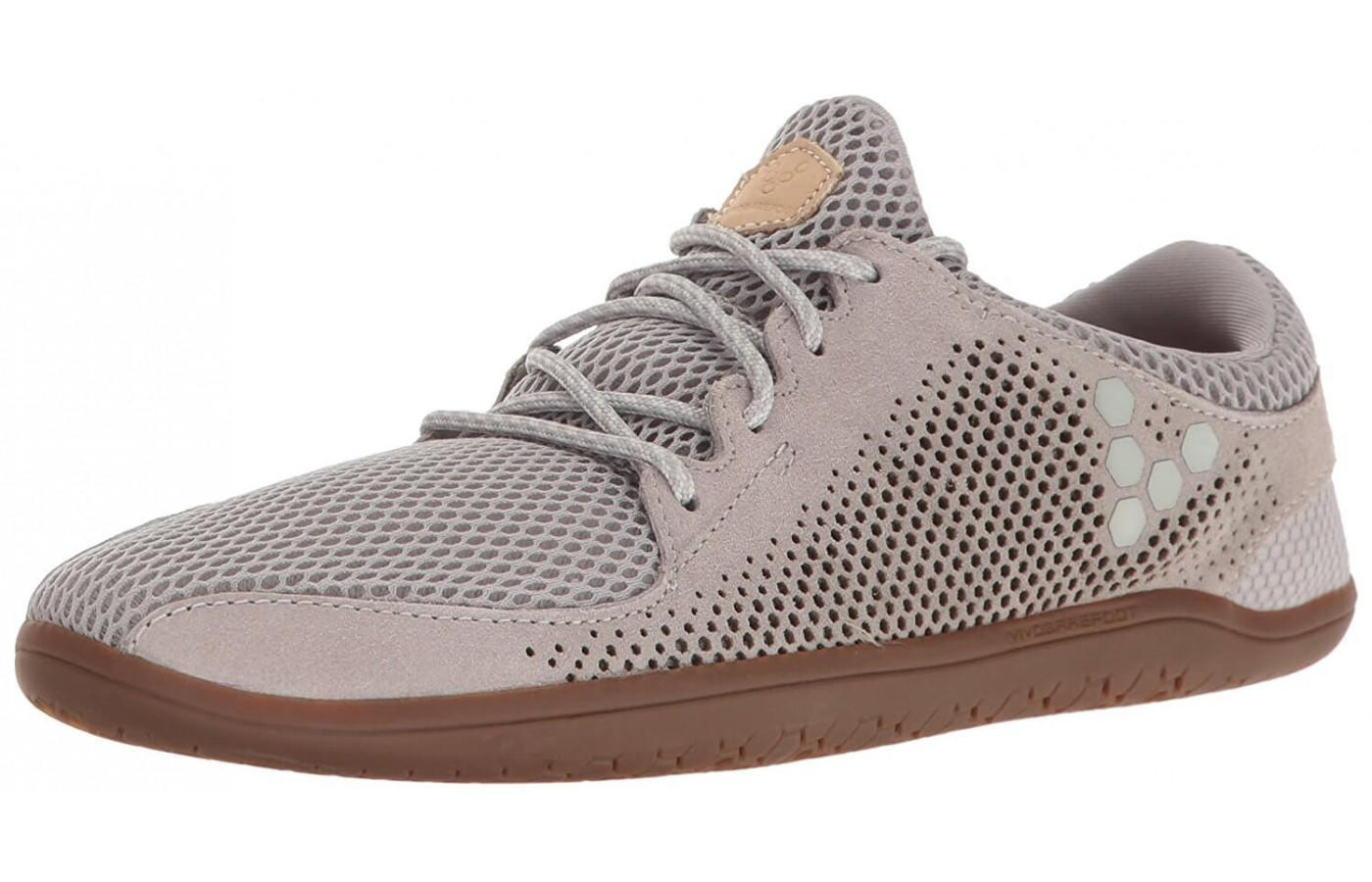 The Vivobarefoot Primus Trio shown from the front/side