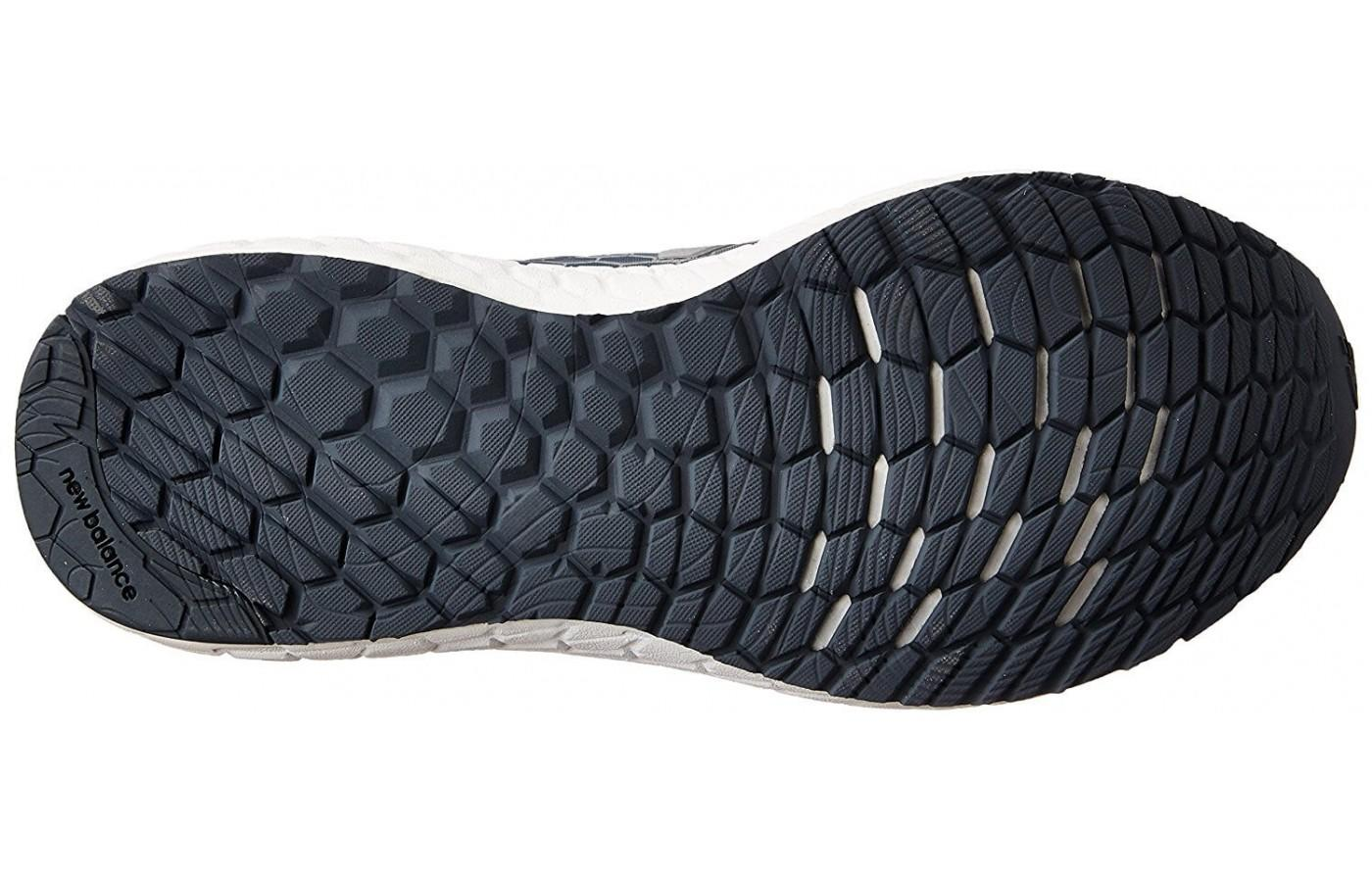 The blown rubber outsole provides added durability