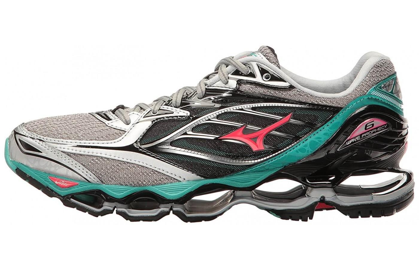 Most liked the eye catching design on the Mizuno Wave Prophecy 6.