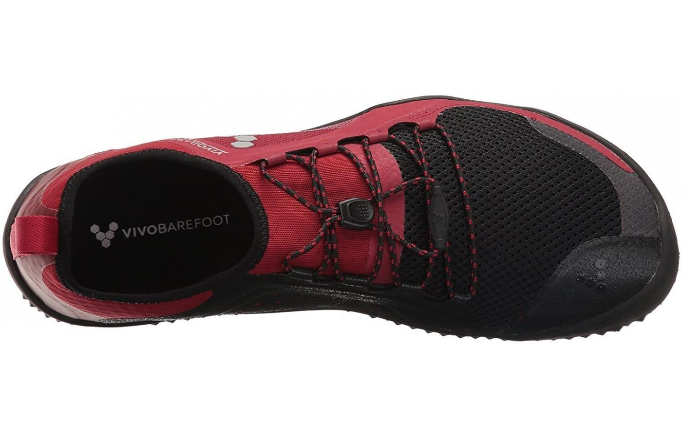 The upper provides a snug, sock like feel for the runner.