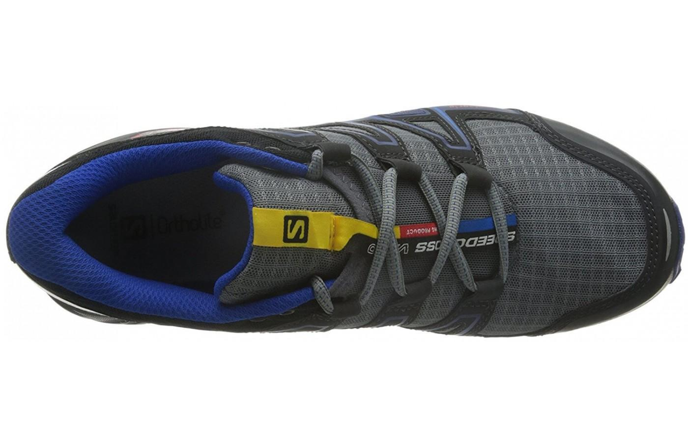 The upper of this shoe is breathable and lightweight.