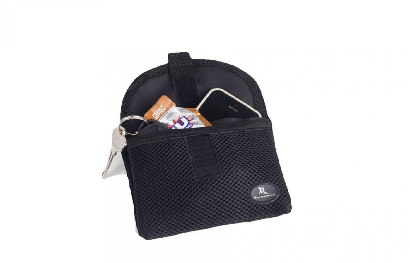 the original buddy pouch can hold gel, keys, most phones and more