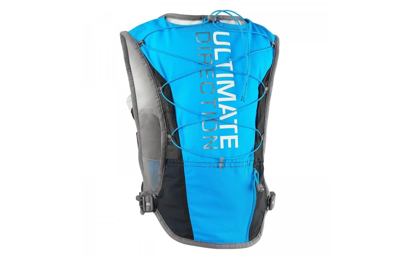 the Ultimate Direction SJ Ultra Vest 3.0 is a great hydration vest for medium to long-distance runners