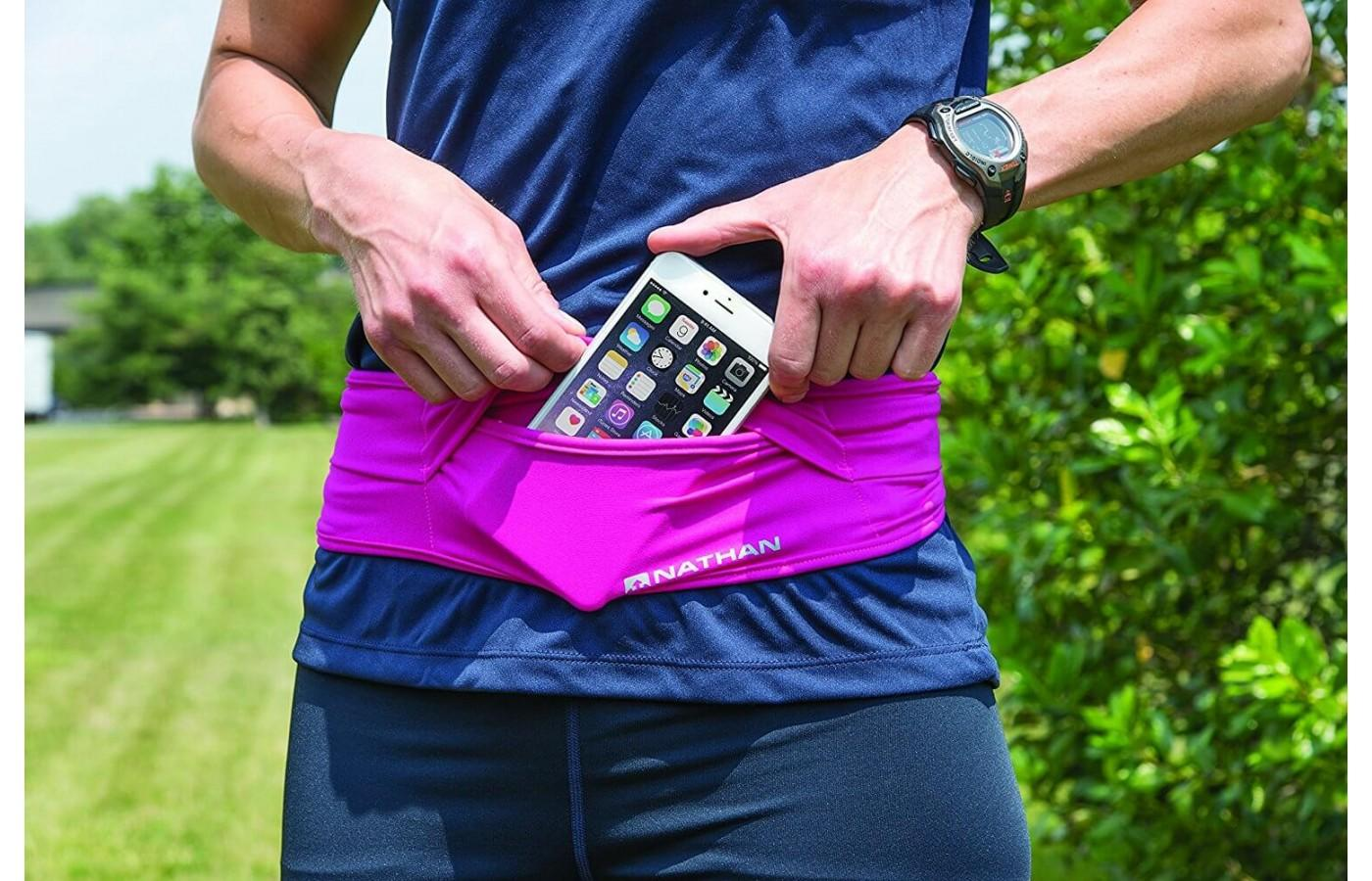 The Nathan The Hipster Running Belt is machine washable