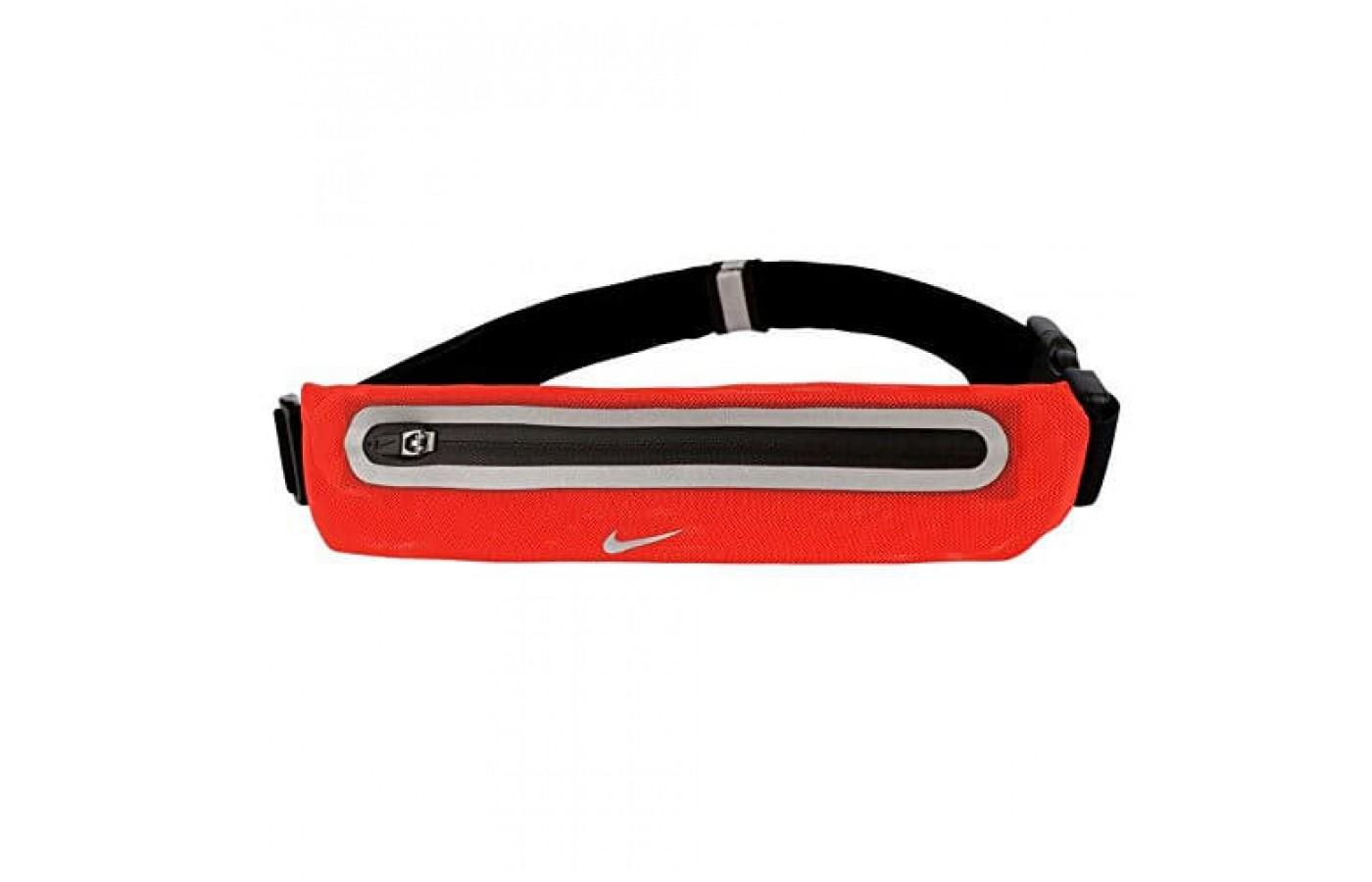 The Nike Lean Waist Pack is made of stretchy fabric
