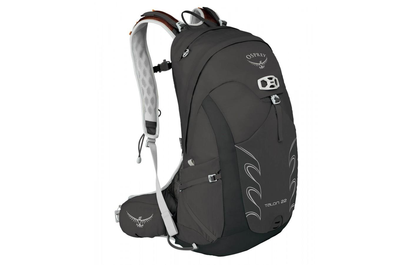 The Osprey Talon 22 features a total of 7 exterior pockets