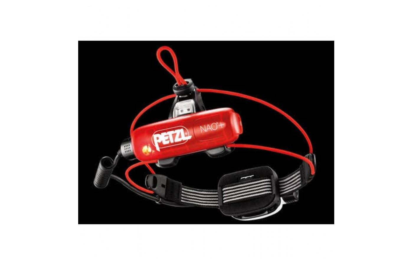 The Petzl NAO+ Headlamp works with the MyPetzl Light app on Android or Apple devices.