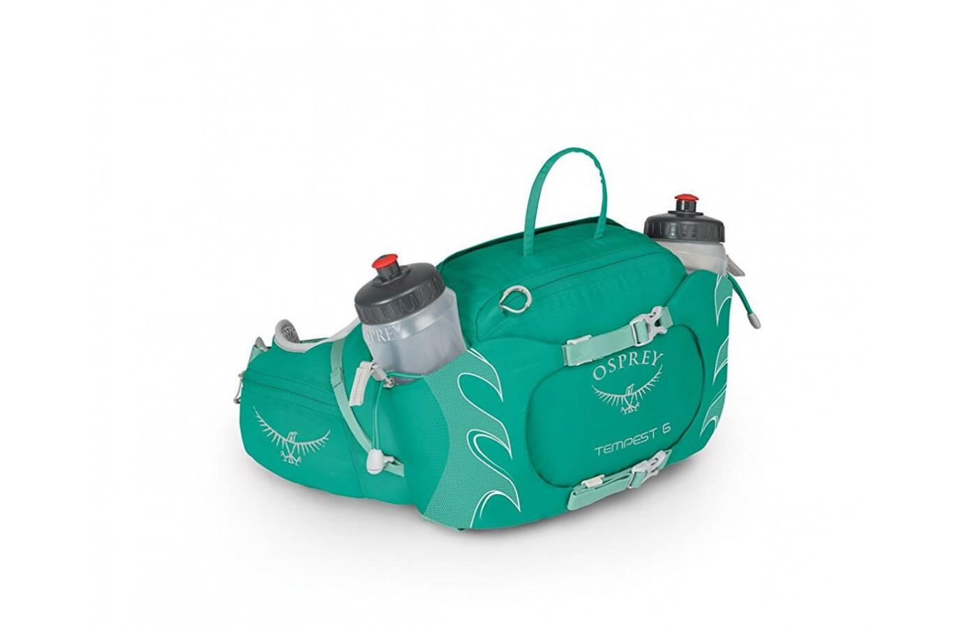 The Osprey also comes in stylish colors.