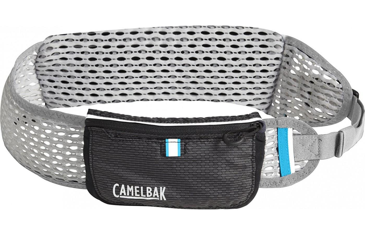 The CamelBak Ultra Belt is designed to offer hands-free water storage to runners.