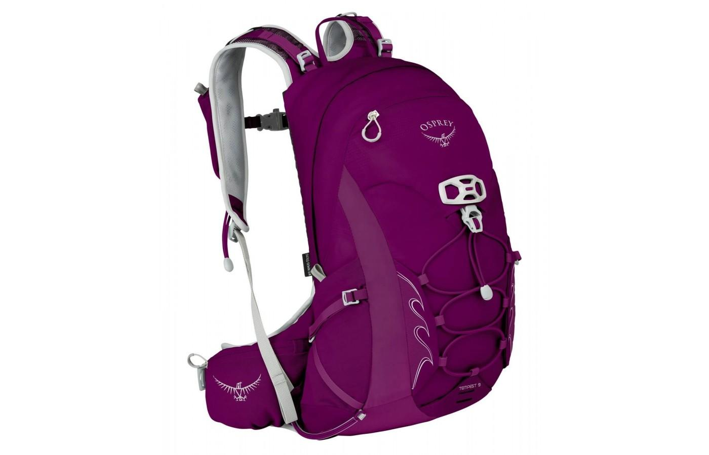 The Osprey Tempest 9 is a lightweight, versatile day pack.
