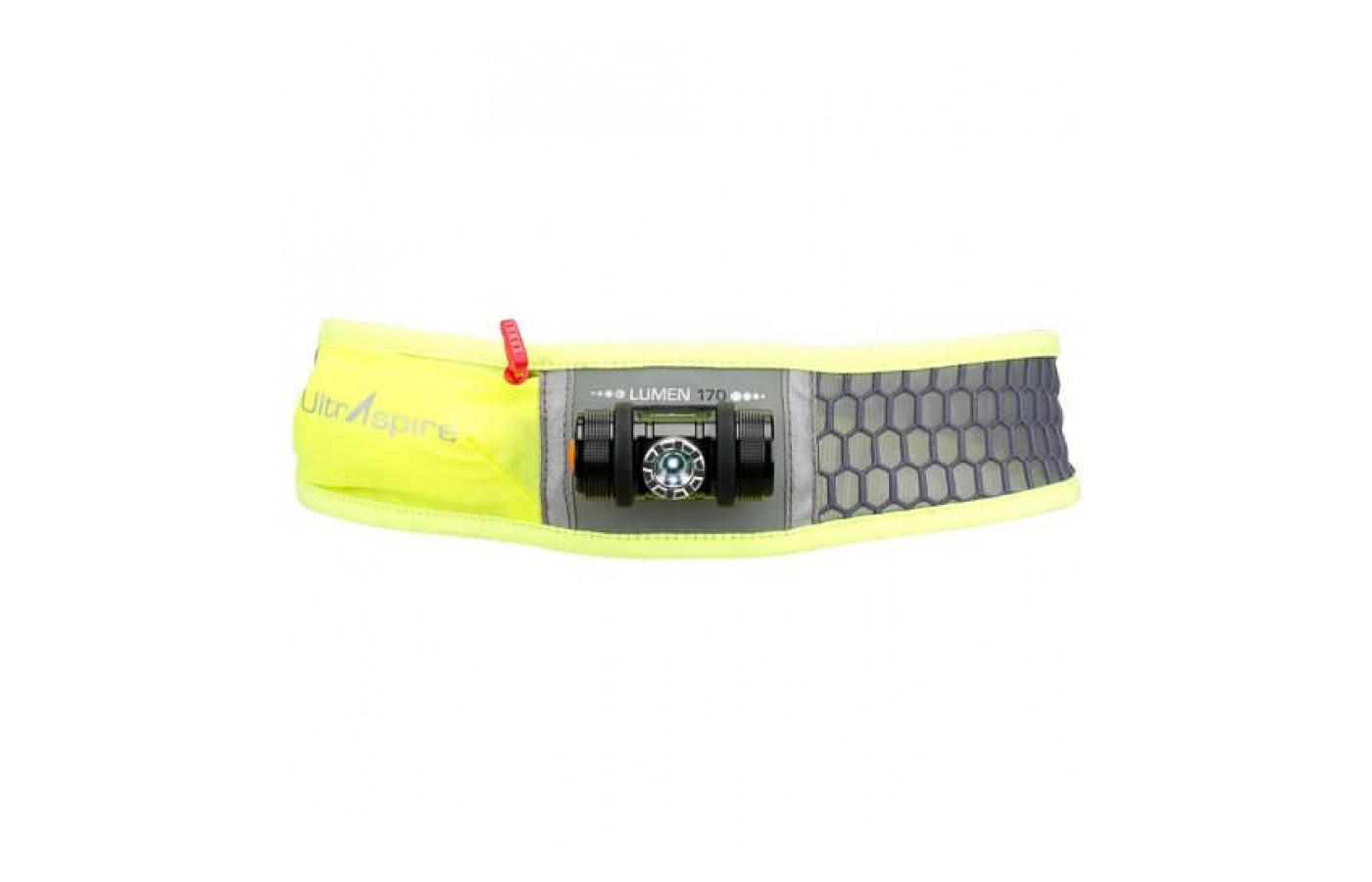 The UltrAspire Lumen 600 is an excellent light source for night time trail running.