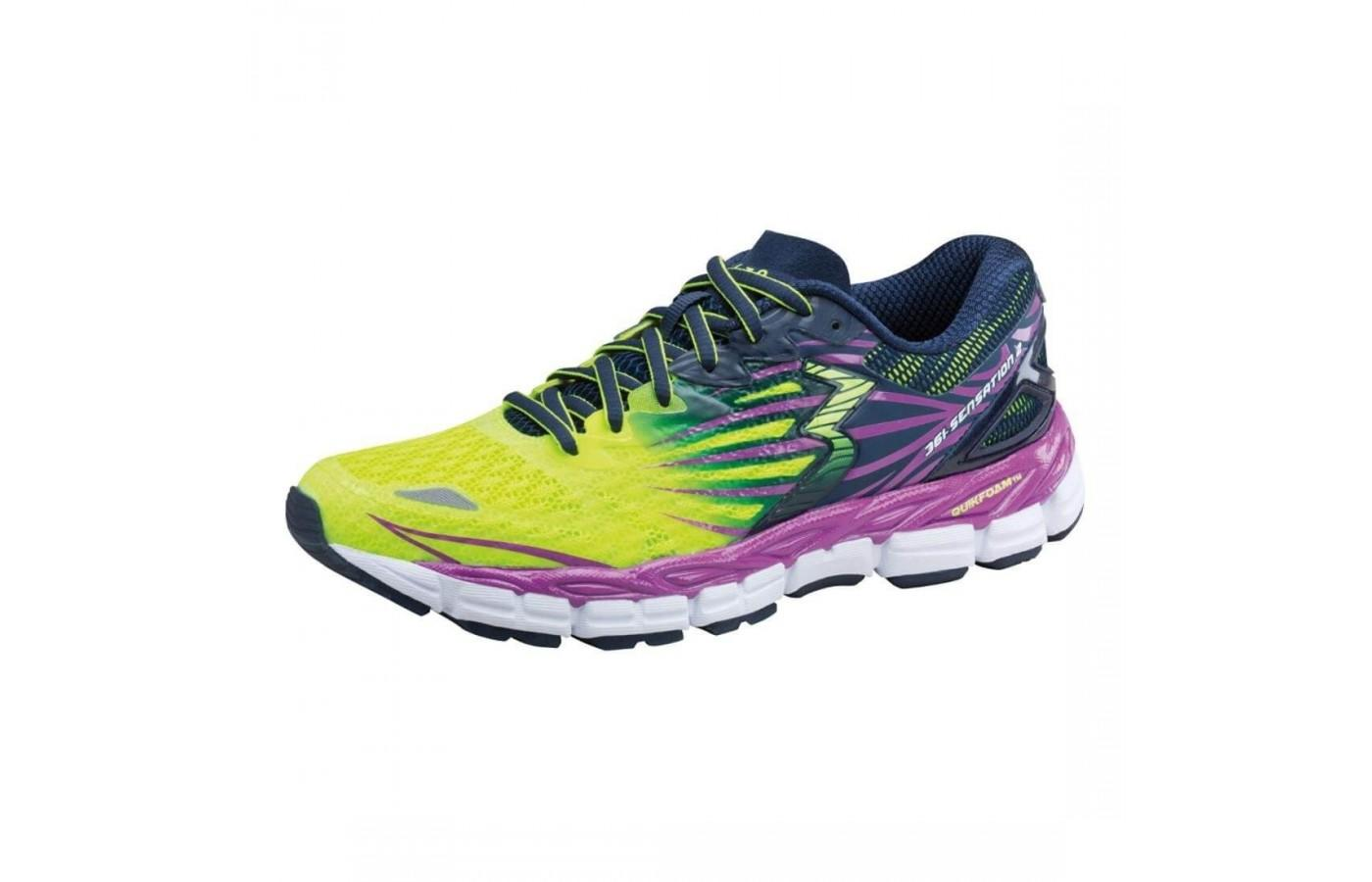 The 361 Sensation two comes in bright colors and an athletic style