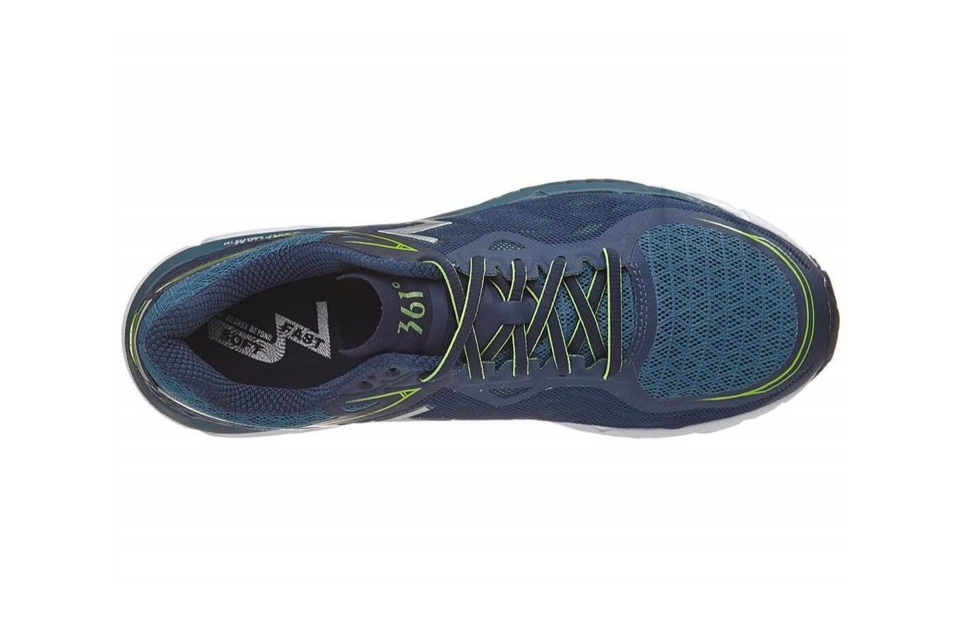 The 361 Spire 2 features a QU!KFOAM insole