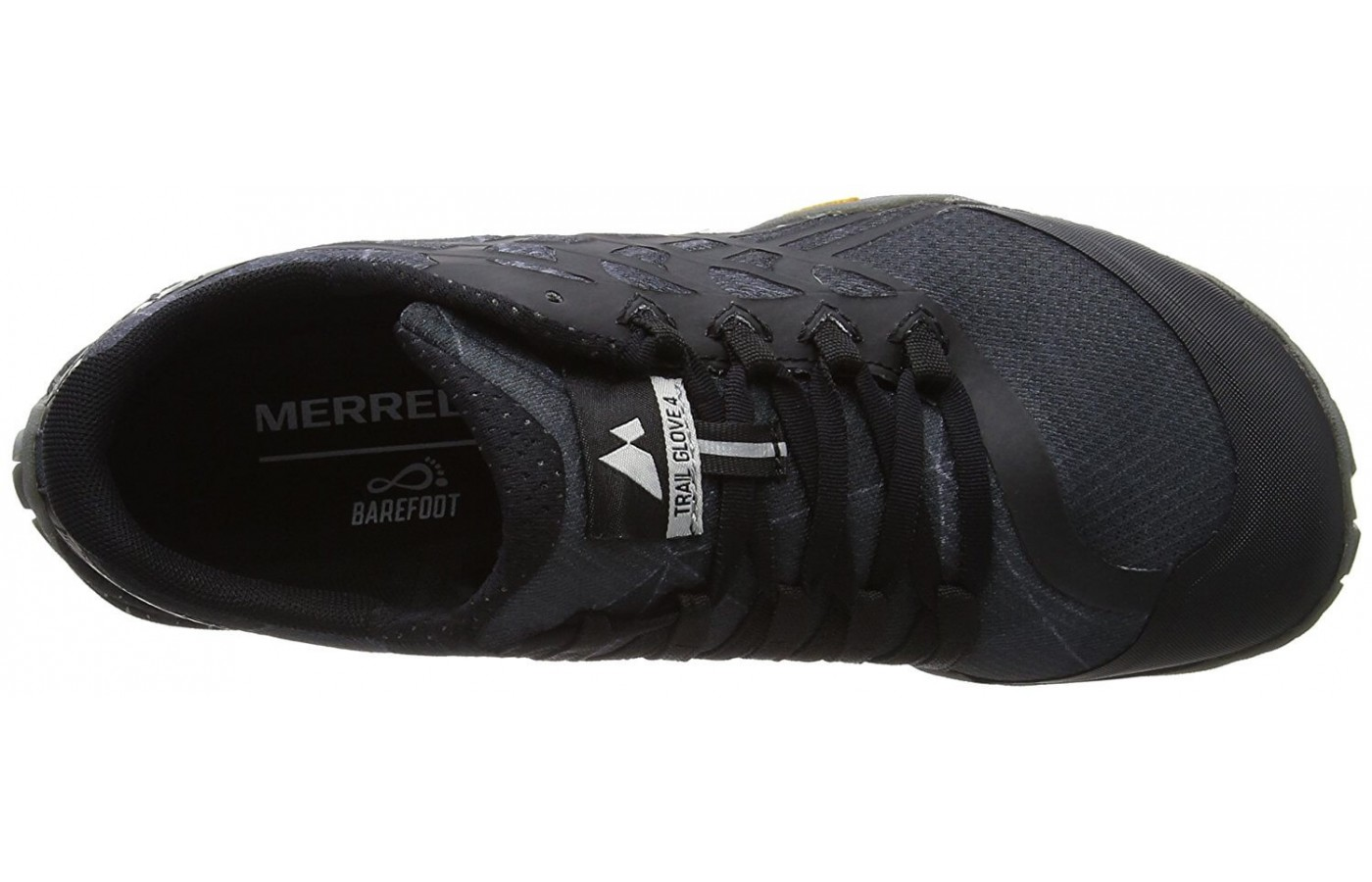 Good top view of Merrell Trail Glove 4