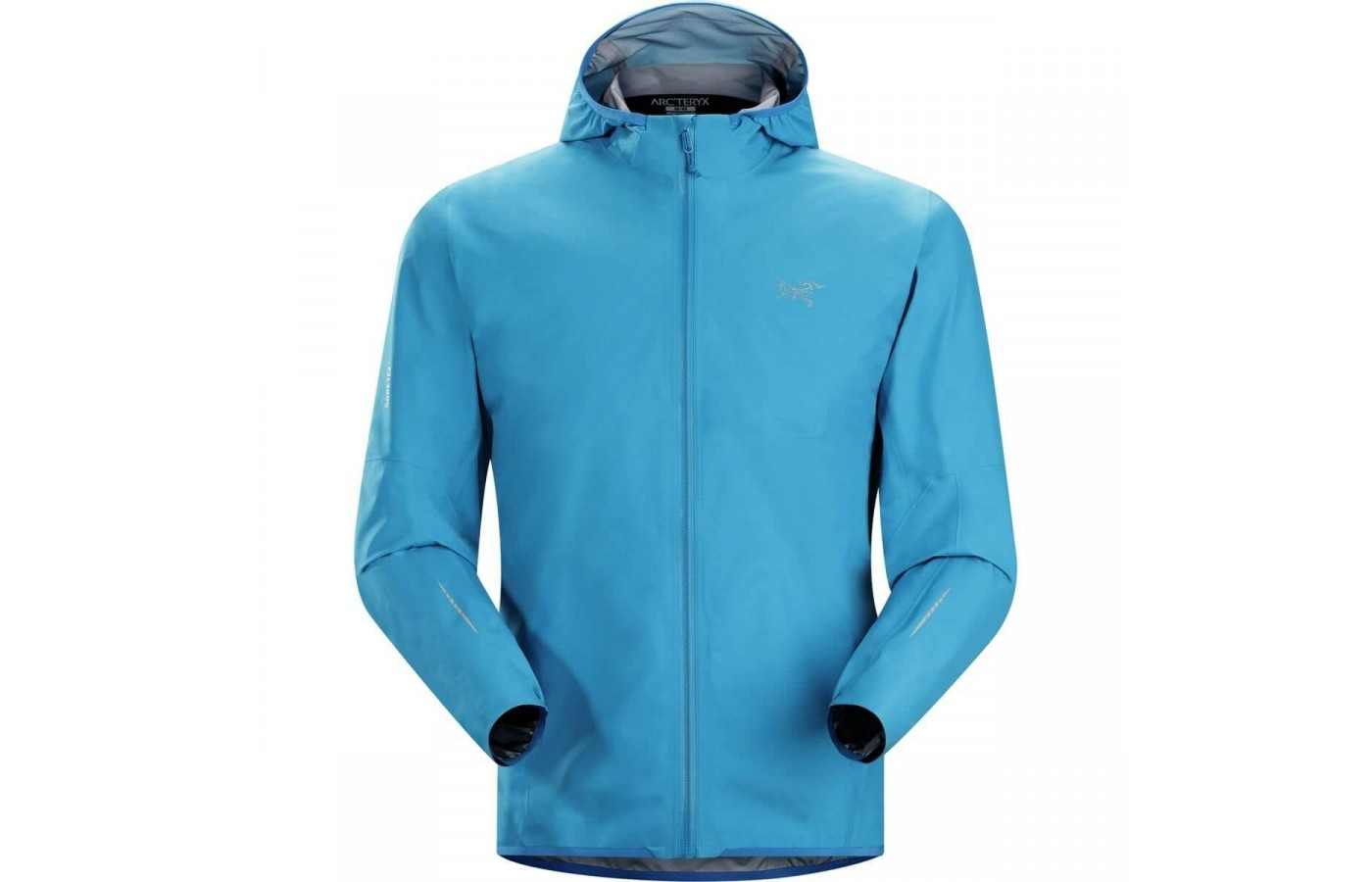 The Arc'teryx Norvan Jacket comes in a stunning Adriatic Blue