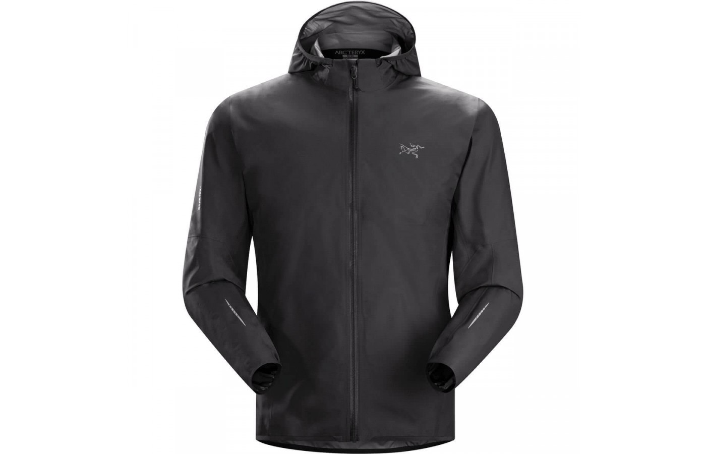 A black version of the Arc'teryx Norvan Jacket