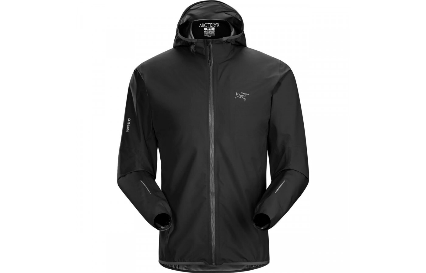 The carbon copy version of the Arc'teryx Norvan Jacket is visually appealing