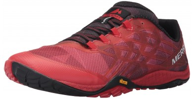 Angled perspective of Merrell Trail Glove 4
