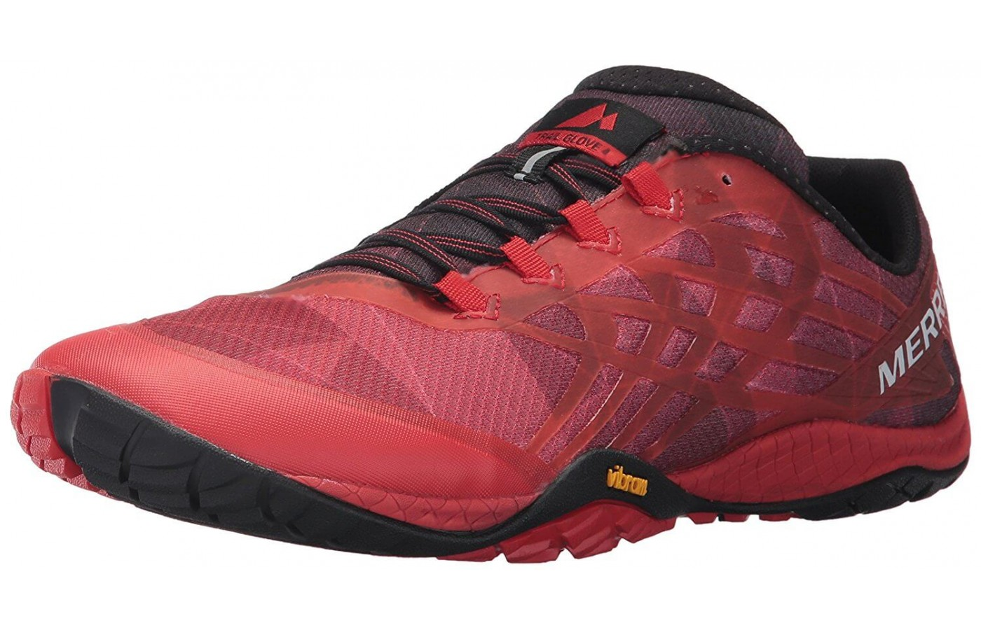 Angled view of Merrell Trail Glove 4