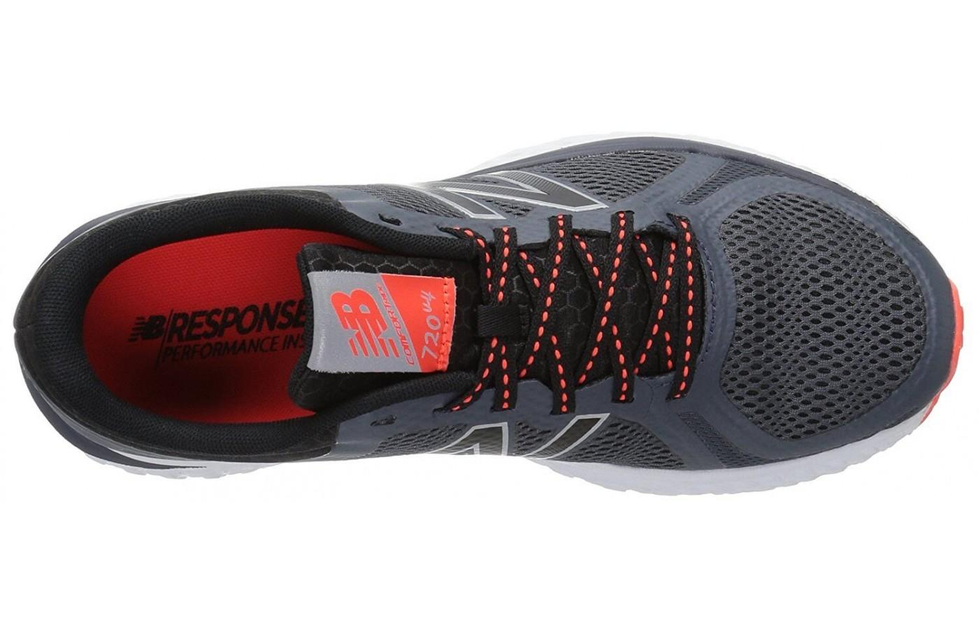 The New Balance 720 V4 has a padded heel collar