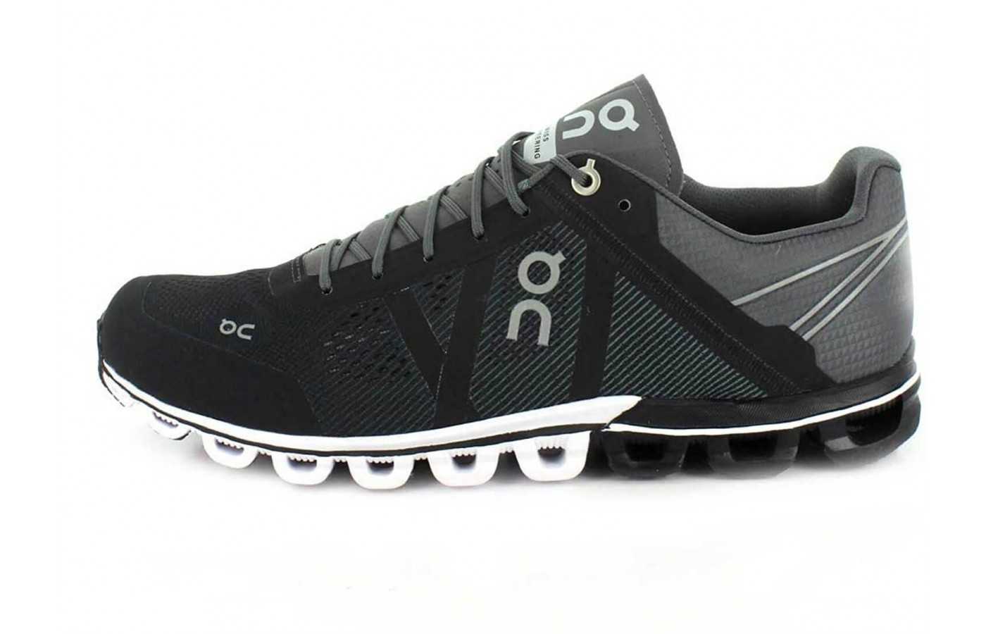 The On Cloudflow is a neutral running shoe