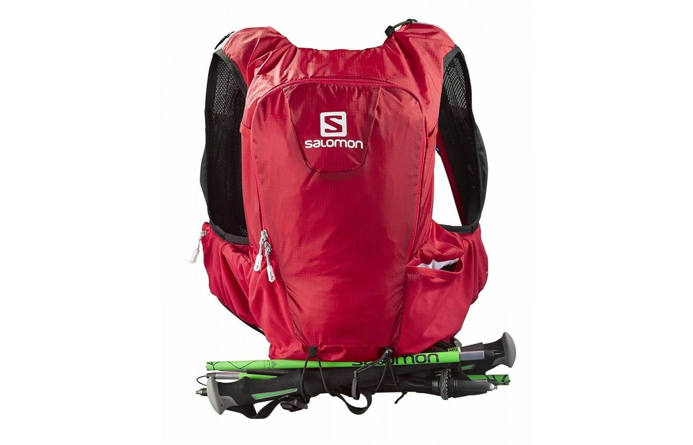 The Salomon Skin Pro 15 can store many accessories