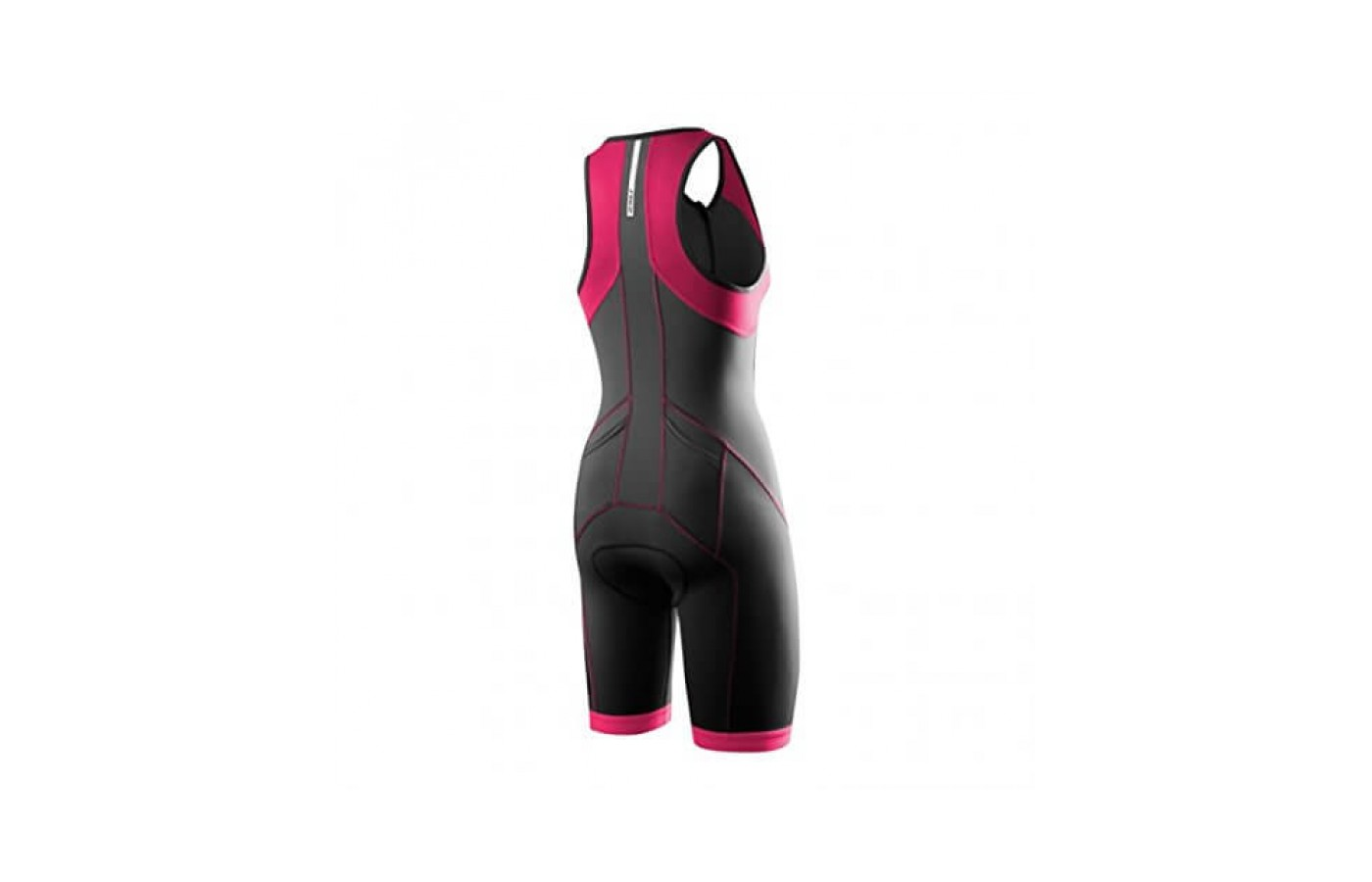 Womens Rear View 2XU Active Trisuit
