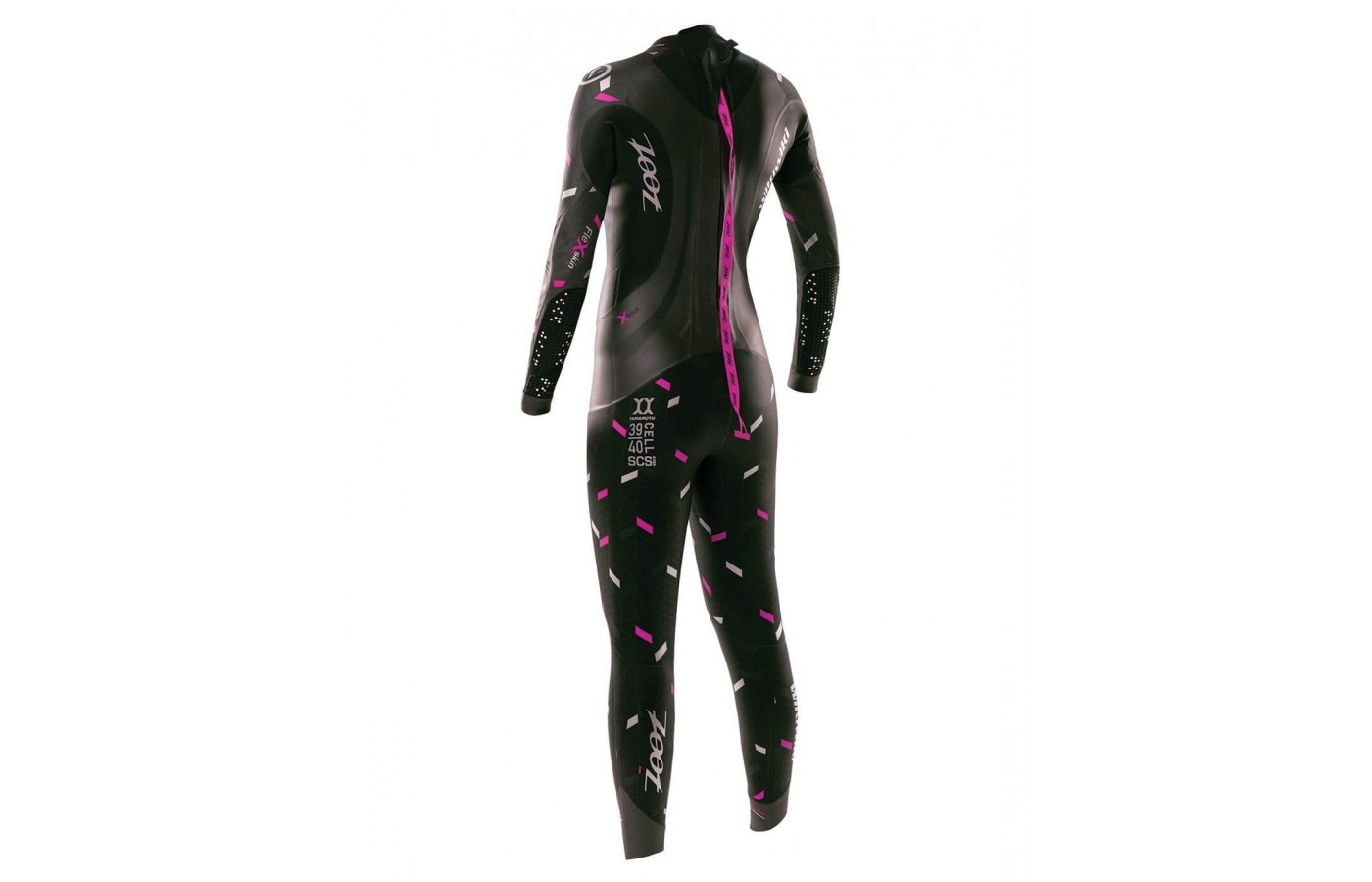 Womens Rear View Zoot Wikiwiki wetsuit