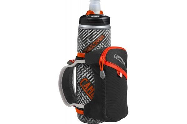 CamelBak Quick Grip Chill is a highly recommended running water bottle.