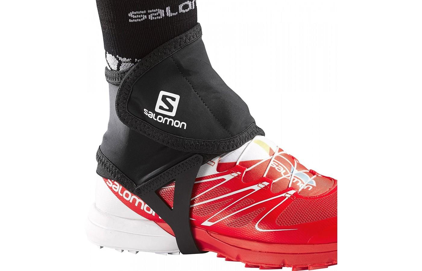 Salomon Low Trail Gaiters are flexible and comfortable for trail runners.