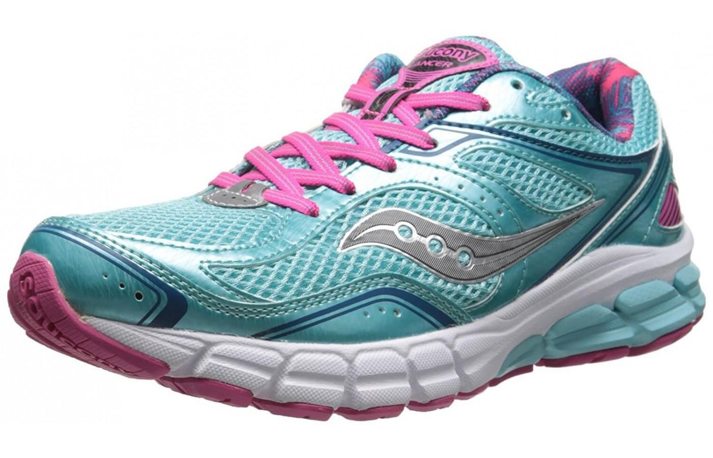 The Saucony Lancer is a high quality, lost cost running shoe.
