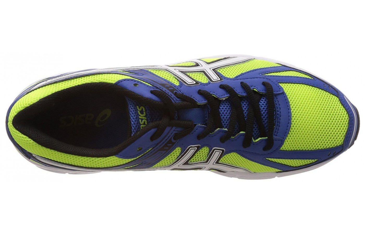 This shoe includes an internal sock liner for added cushioning and support