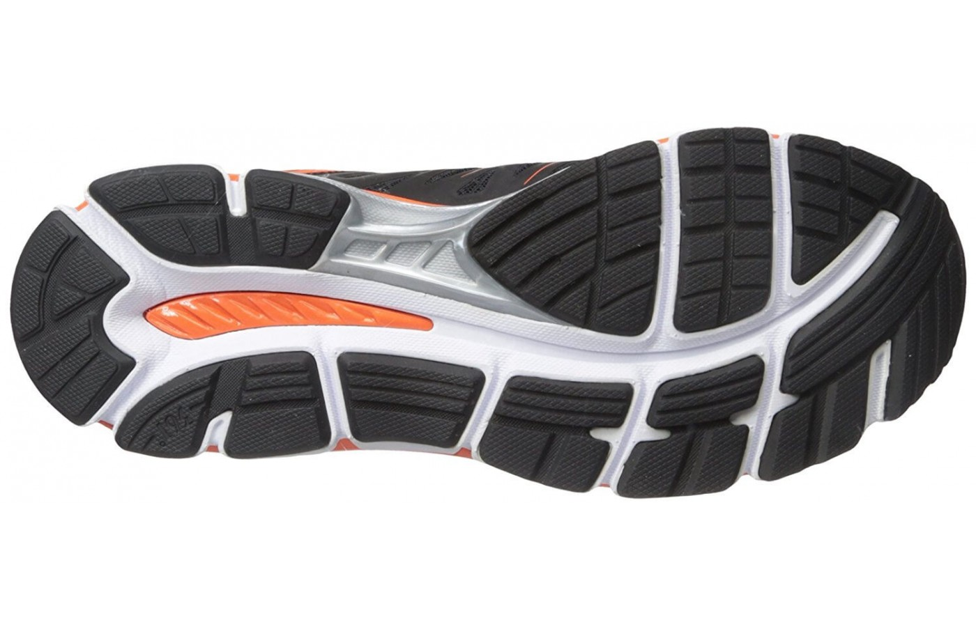 The outsole features a combination of blown and high abrasion rubber.