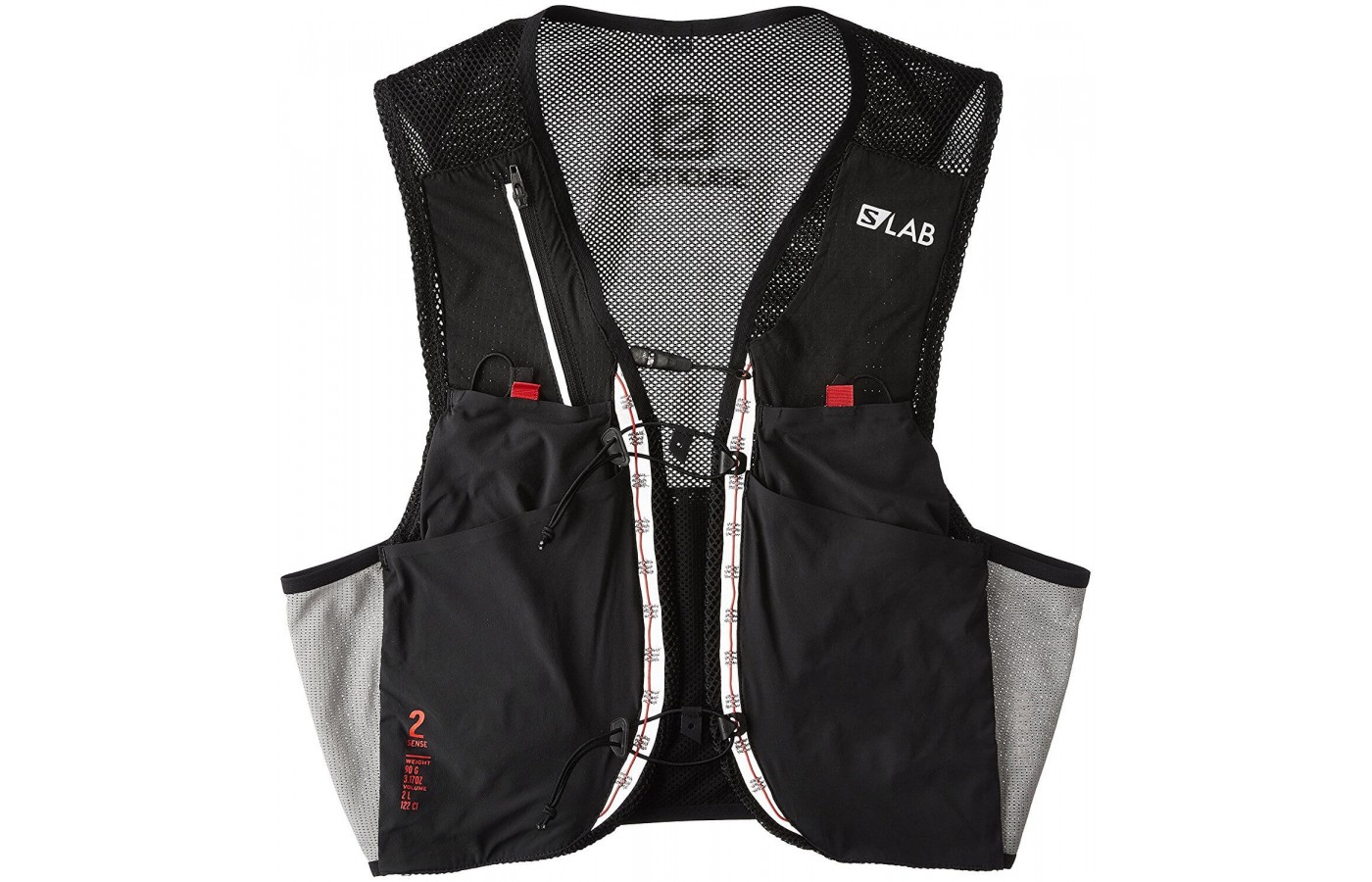 Salomon S-Lab Sense 2 Vest is a minimalist lightweight hydration vest alternative