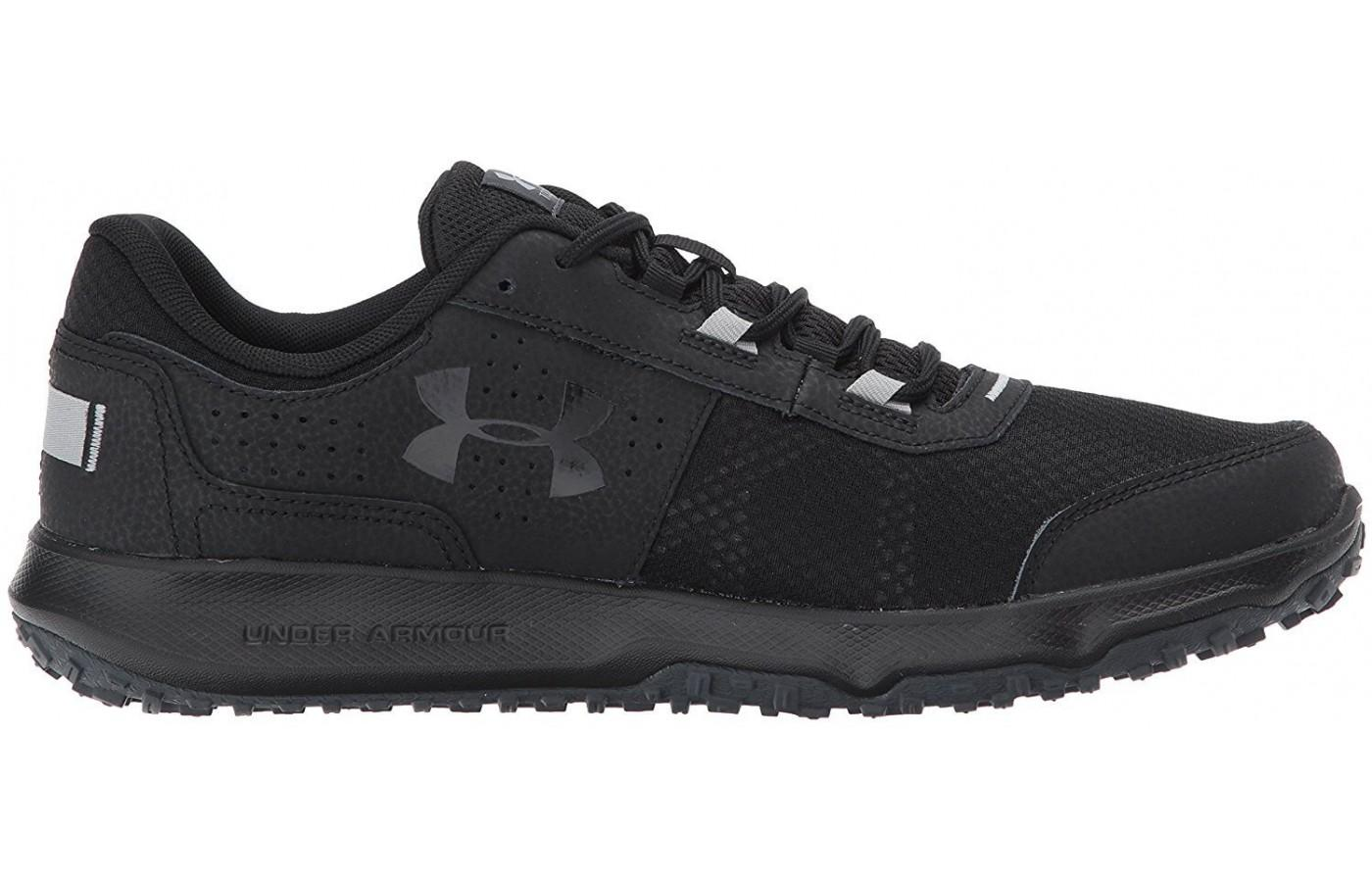 EVA foam in the Under Armour Toccoa's midsole provides dense cushioning.
