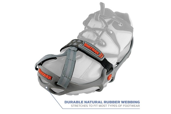 The Yaktrax Run has a good track record of adding grip to your shoes.