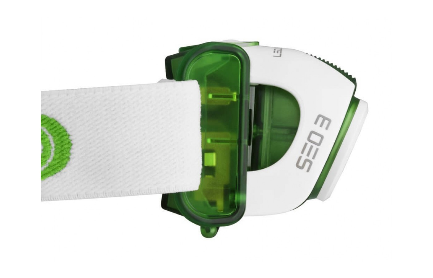 Medial View of LED Lenser SEO 3