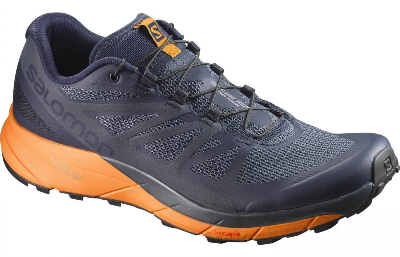 22ed597fc2a8 Salomon Sense Ride. Runners will be pleased with the Contagrip outsole ...
