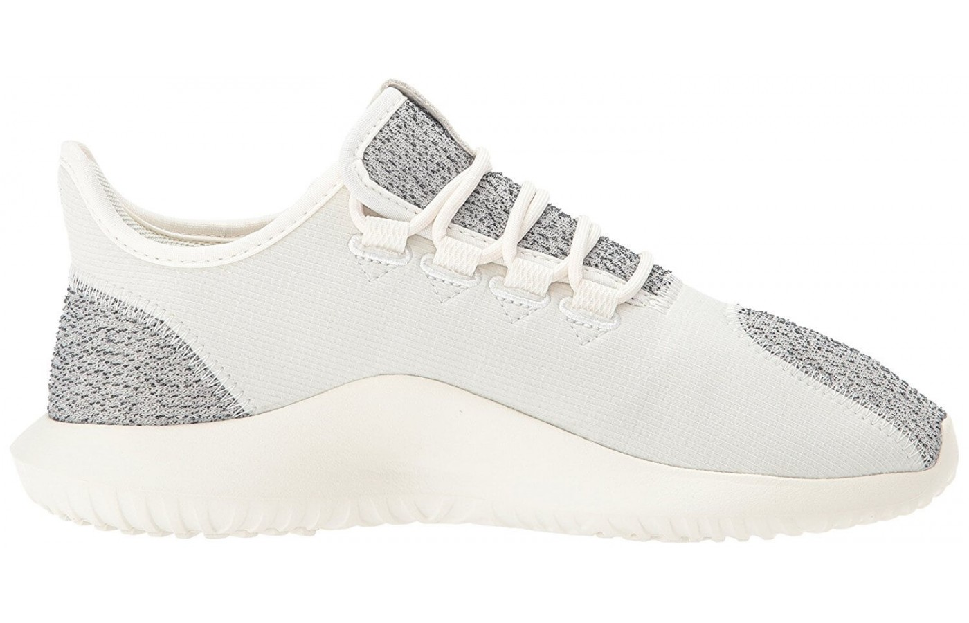 The Adidas Tubular Shadow features a sock-like upper design