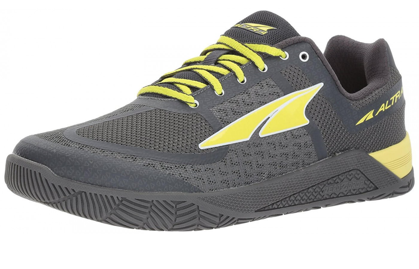 The Altra HIIT XT features an Air Mesh upper