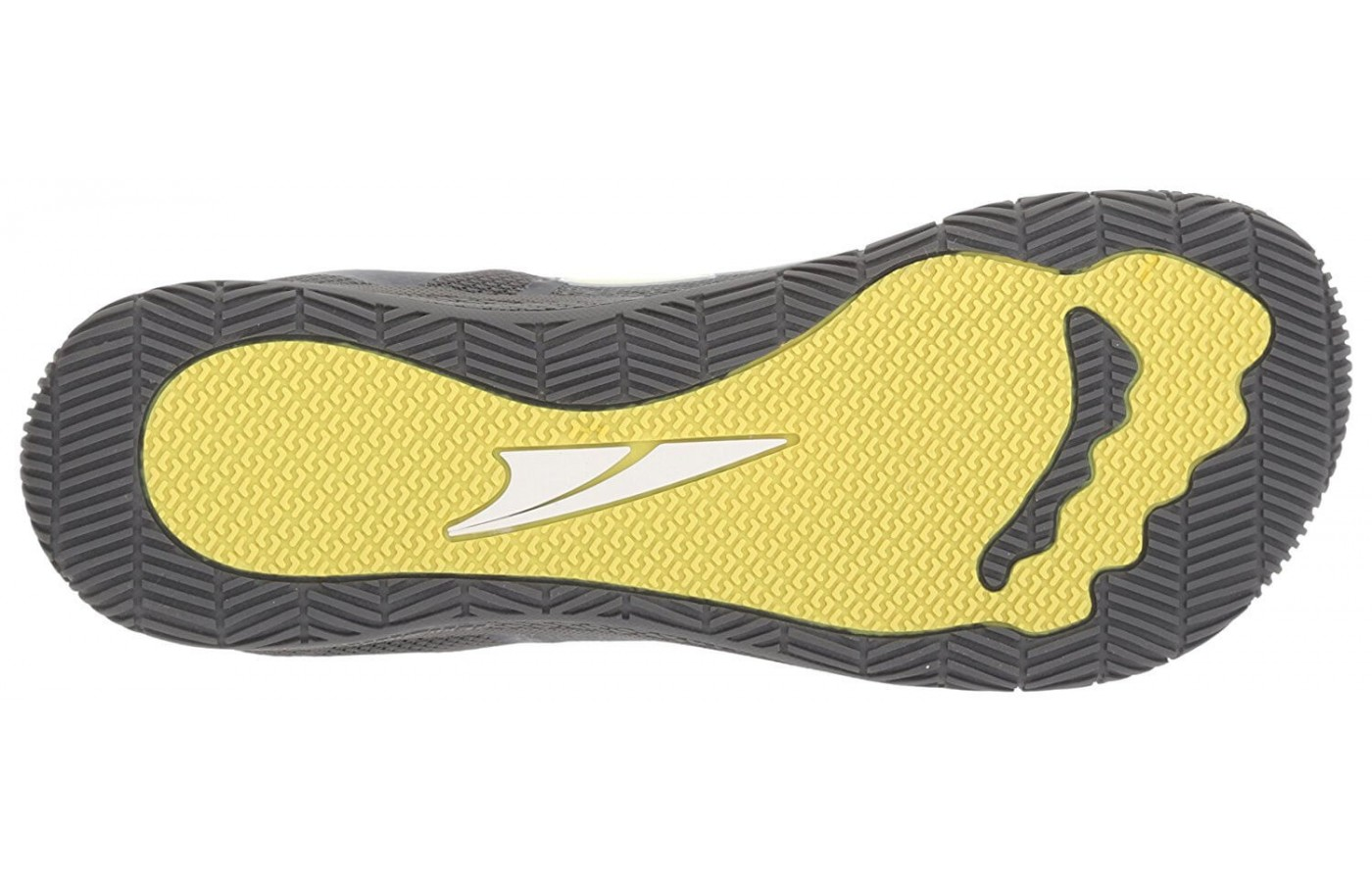The Altra HIIT XT features a rubber outsole