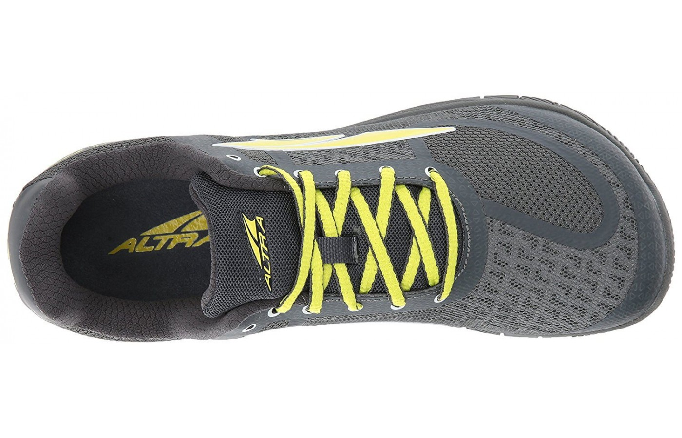 The Altra HIIT XT has an anatomically correct foot box