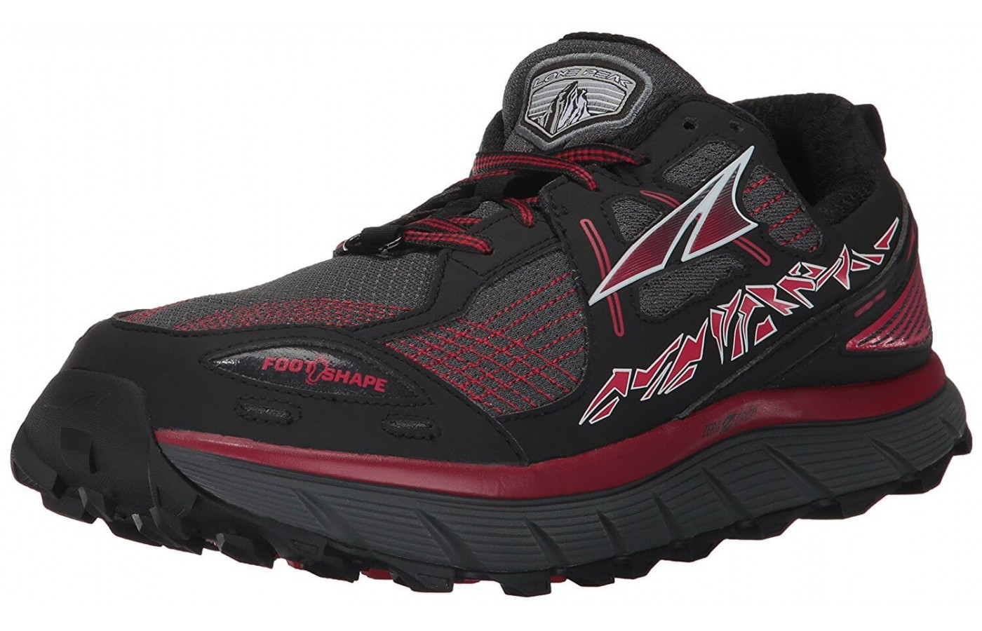 The Altra Lone Peak 3.5 features a new 4 point gaiter system
