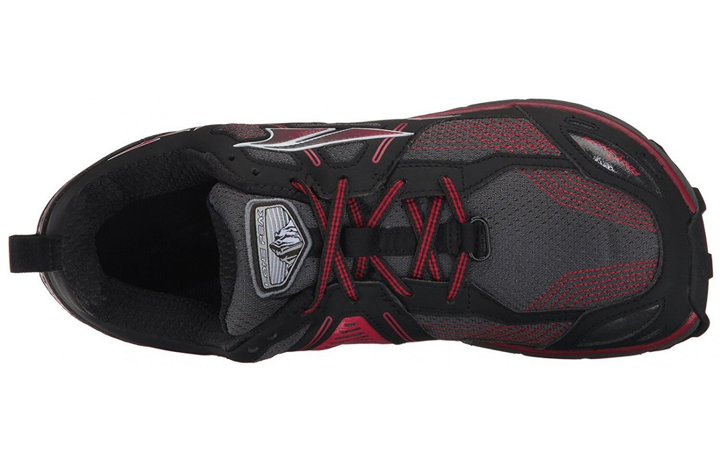 The Altra Lone Peak 3.5 features a FootShape toe box