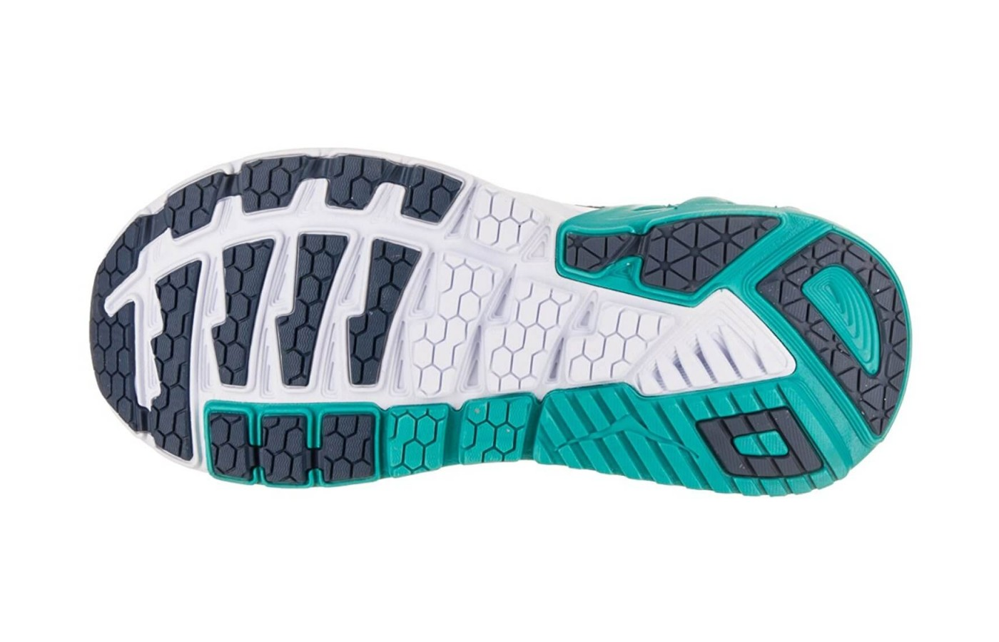 The Hoka One One Arahi 2 has a rubber outsole